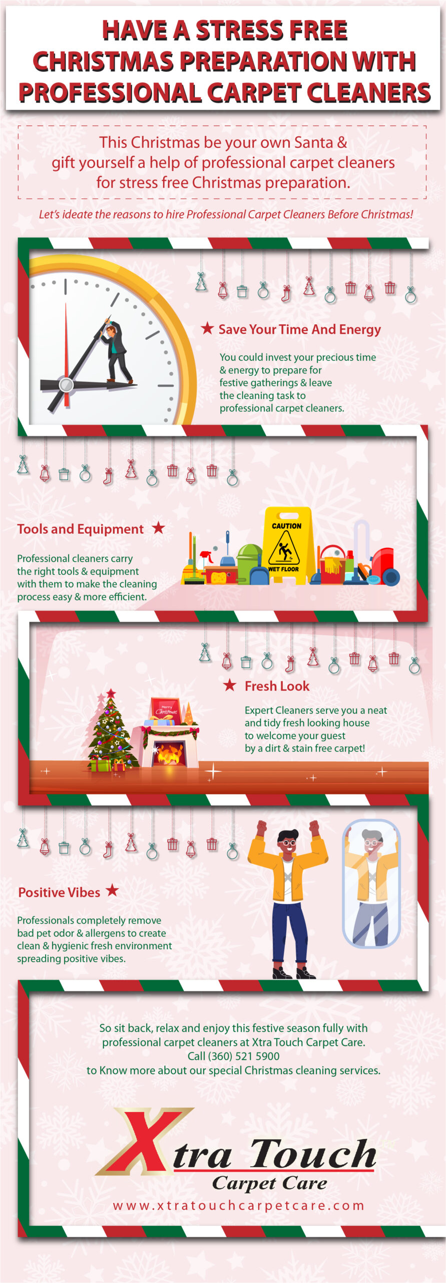 Reasons To Hire Professional Carpet Cleaners Before Christmas