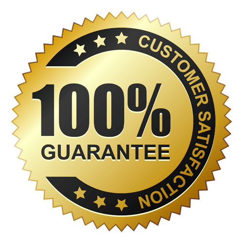 100% Customer Satisfaction