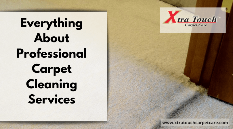 Everything About Professional Carpet Cleaning Services