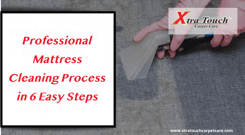 Professional Mattress Cleaning Process in 6 Easy Steps