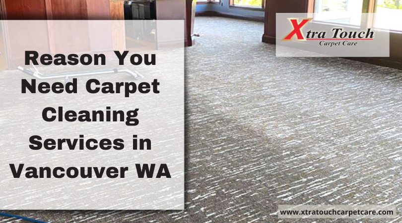 Reason You Need Carpet Cleaning Services in Vancouver WA