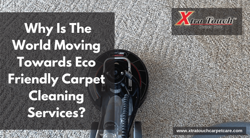Why Is The World Moving Towards Eco Friendly Carpet Cleaning Services?
